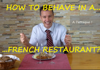 How to Behave in a French Restaurant?