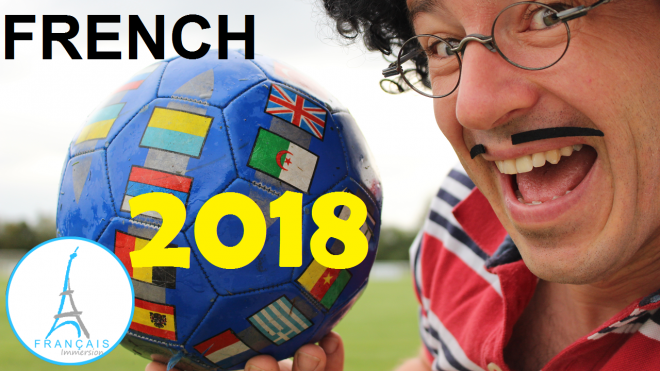 2018 FIFA World Cup Country Names French - Francais Immersion