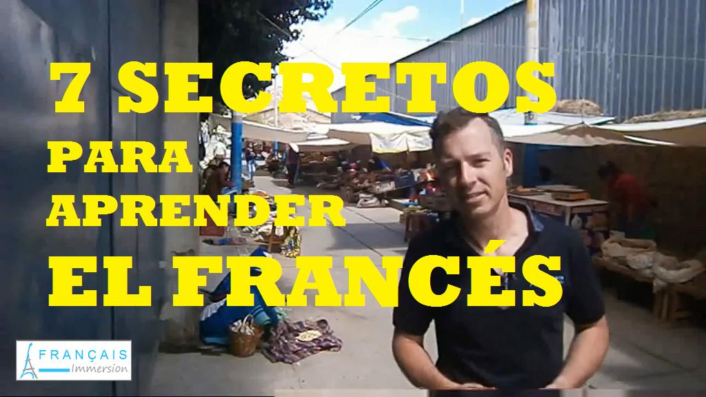 7 Secretos para Aprender el Frances