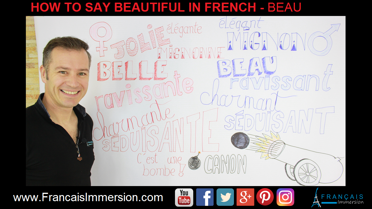 Beautiful in French Beau Support Guide - Francais Immersion