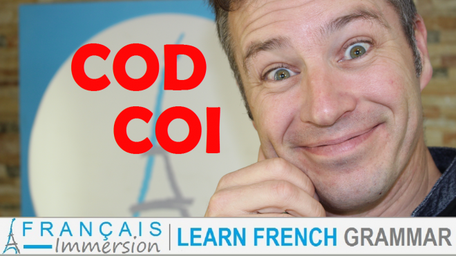 COD COI French Grammar - Francais Immersion