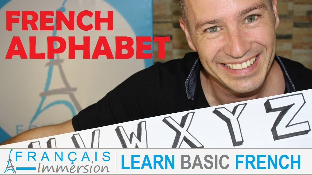 French Alphabet Letters/Pronunciation/Sounds - L'Alphabet