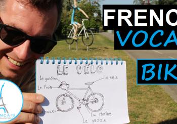 French Bicycle Bike Vocabulary – Le Vélo en Français + FUN!