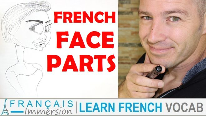 French Face Parts - Francais Immersion