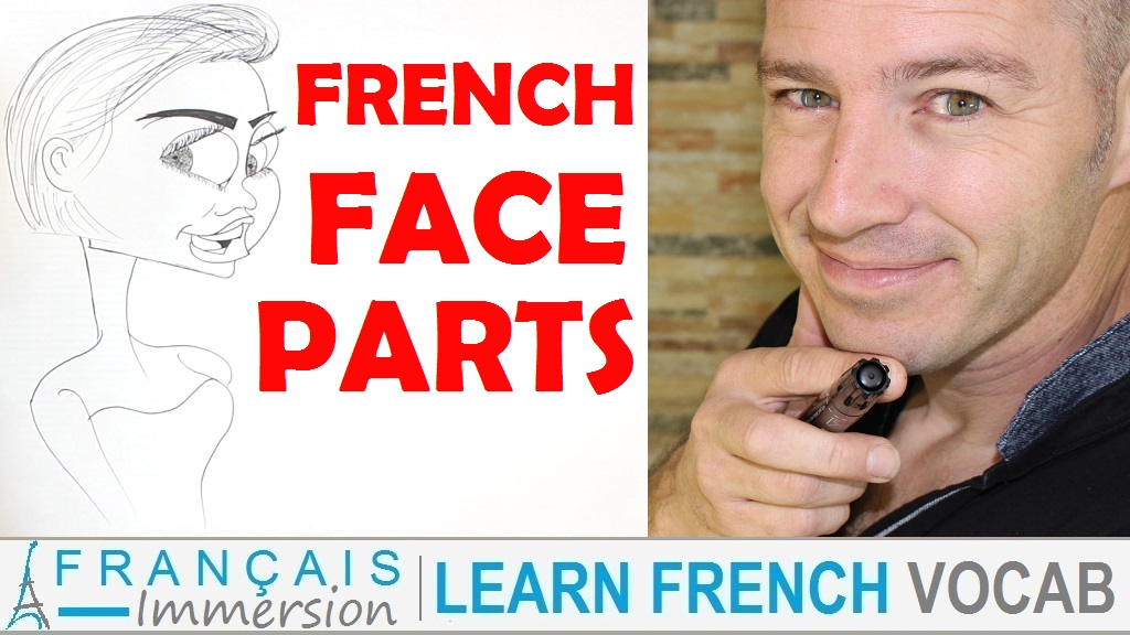 French Face Parts - Français Immersion