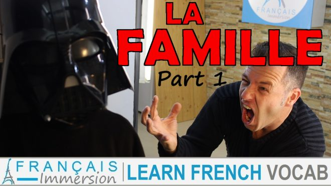 French Family Members Famille Part 1 - Francais Immersion