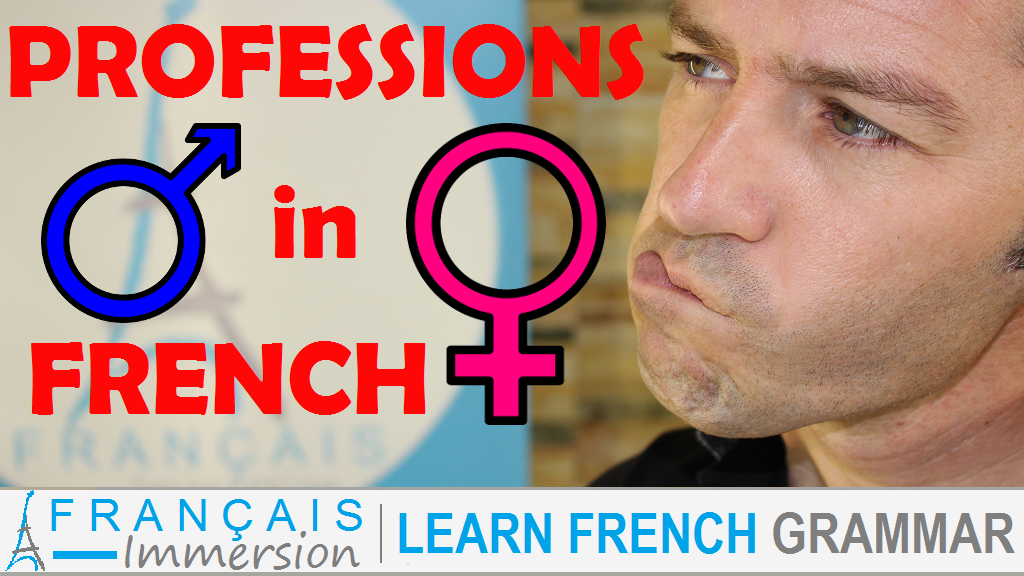 French Professions Gender - Français Immersion