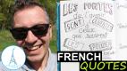 French Quotes – Les portes de l'avenir… Coluche – Learn French Culture