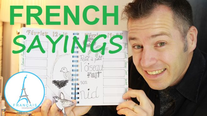 French Sayings Petit a petit - Francais Immersion