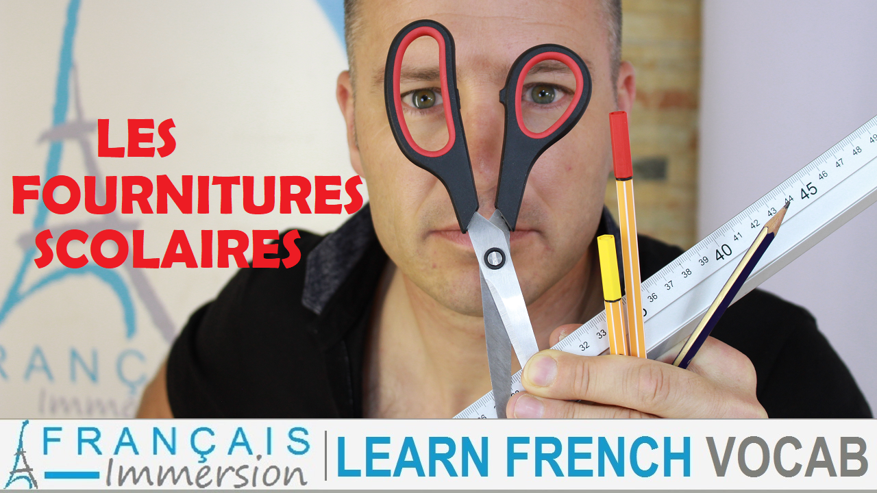 French School Supplies - Francais Immersion