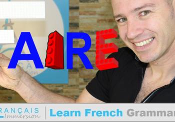 French Verb Faire (to do/make) – Verbes Français