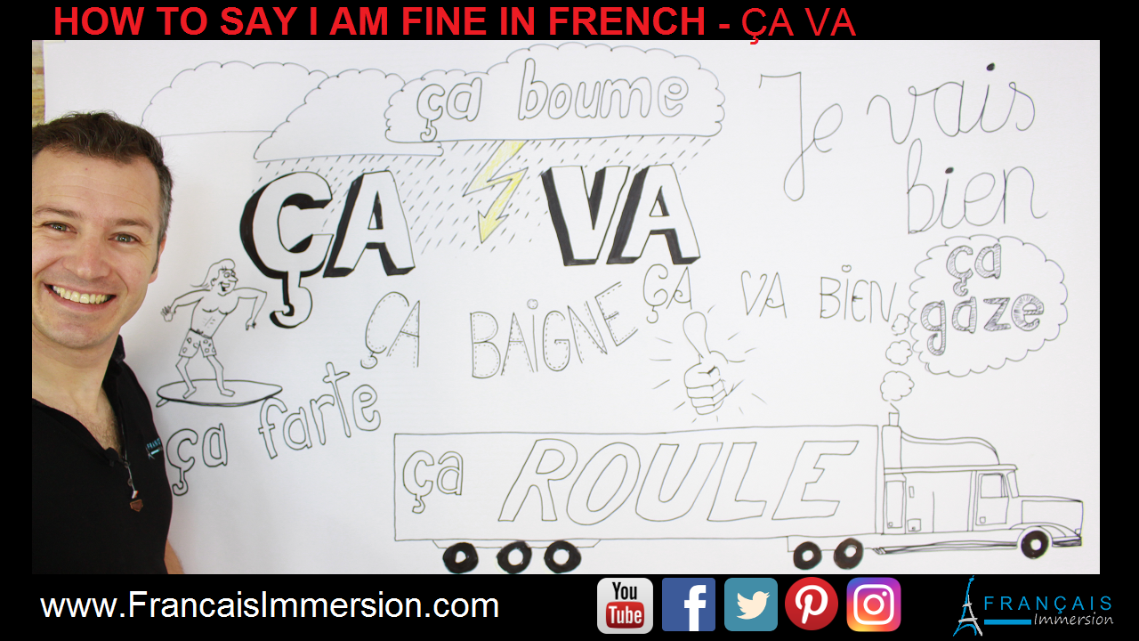 I am fine in French Ca va Support Guide - Francais Immersion