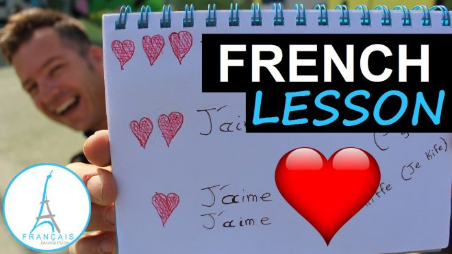 Love in French Aimer - Francais Immersion