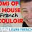 Rooms of the House in French: Le couloir – Les pièces de la maison + FUN!