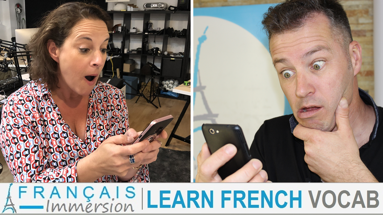 Sms Language French Texting - Francais Immersion