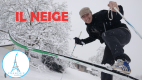 It's Snowing ! Il Neige – Learn French Language