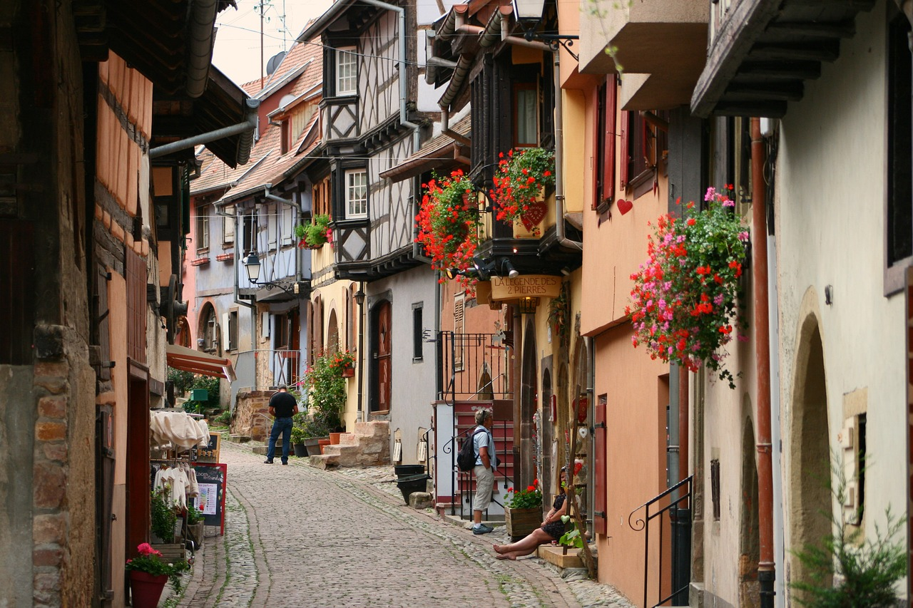 Eguisheim beautiful village - French Immersion Homestay Thomas - Français Immersion