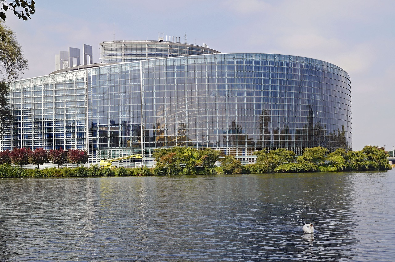 European Parliament in Strasbourg - French Immersion Homestay Thomas - Français Immersion