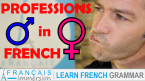 French Professions - Gender (Masculine and Feminine)